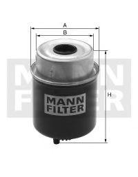 Фільтр палива MANNFILTER WK8123