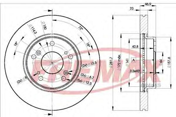 Fremax  арт. BD1705