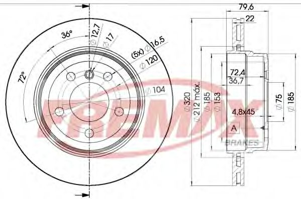 Fremax  арт. BD2218