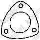 Уплотнительное кольцо, труба выхлопного газа  арт. 256624