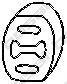 Елемент випускної системи  арт. 255854