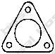 Уплотнительное кольцо, труба выхлопного газа  арт. 256206