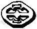 Буфер глушителя (BMW 320I) BOSAL 255071