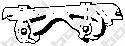 Буфер, глушитель  арт. 255417