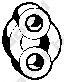 Резинка глушителя  арт. 255335