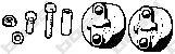 Буфер глушителя (TOYO COROLLA 95-97) BOSAL 254020