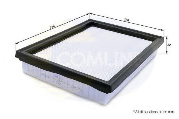 Воздушный фильтр  арт. EAF418