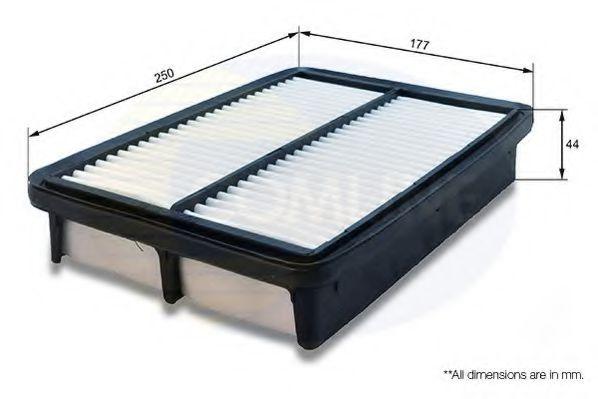 CHY12255 Comline - Фільтр повітря ( аналогWA9547/LX1785 )  арт. CHY12255