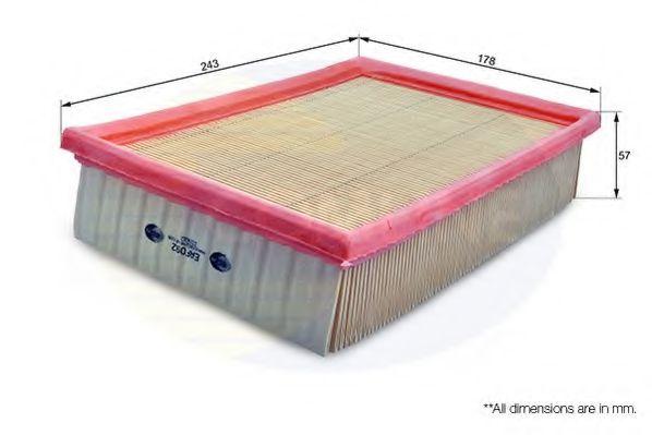 Воздушный фильтр  арт. EAF092