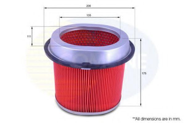 Воздушный фильтр  арт. CMB12344