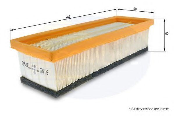 Воздушный фильтр  арт. EAF587