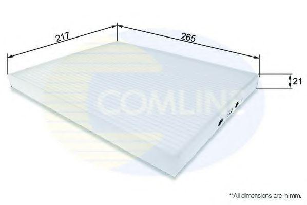 EKF137 Comline - Фільтр салону ( аналогWP9250/LA306 ) COMLINE арт. EKF137