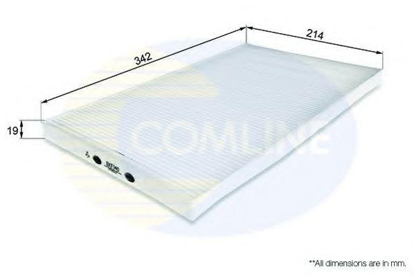 EKF140 Comline - Фільтр салону ( аналогWP6872/LA58 )  арт. EKF140