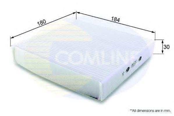 EKF257 Comline - Фільтр салону ( аналогWP9314 ) COMLINE арт. EKF257
