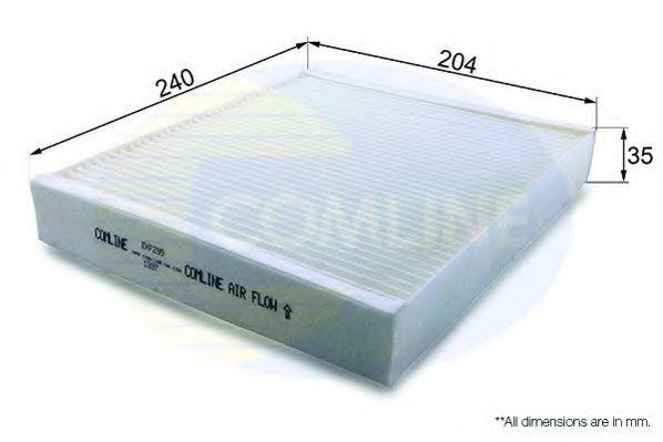 Фильтр, воздух во внутренном пространстве  арт. EKF295