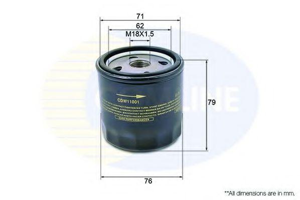 Масляный фильтр  арт. CDW11001