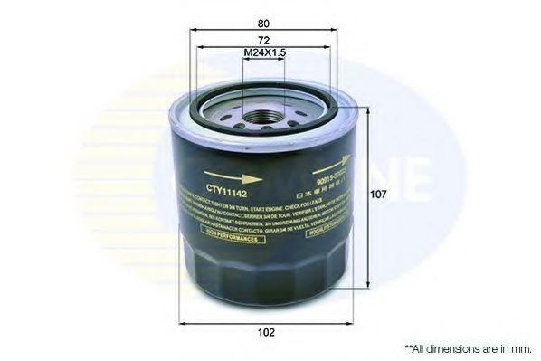 CTY11142 Comline - Фільтр оливи ( аналогWL7235/OC294 )  арт. CTY11142