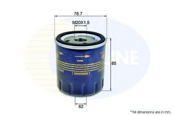 Oil filter comline EOF005