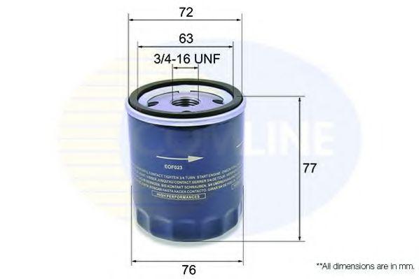 Масляный фильтр  арт. EOF023