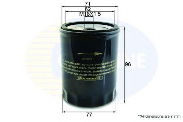 Масляный фильтр  арт. EOF035