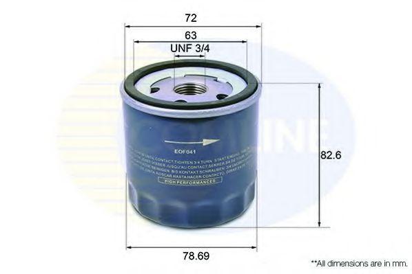 Масляный фильтр  арт. EOF041