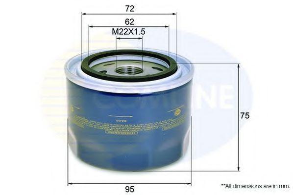 EOF228 Comline - Фільтр оливи ( аналогWL7443/OC570 )  арт. EOF228