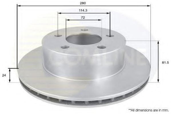 Тормозной диск  арт. ADC2302V