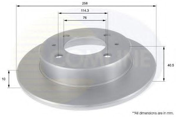 Тормозной диск  арт. ADC1020