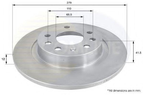 Тормозной диск  арт. ADC1116