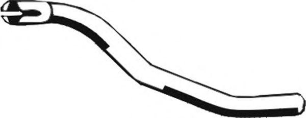 Трубы и гофры Труба выхлопного газа ASMET арт. 02015