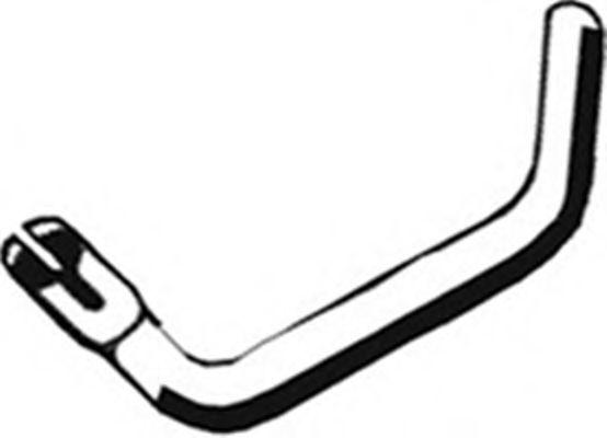 Трубы и гофры Труба выхлопного газа ASMET арт. 18031