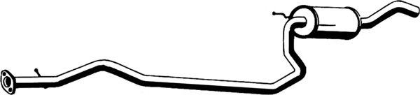 Глушитель автомобильный ASMET 07150