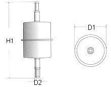 Топливный фильтр фільтр паливний CHAMPION арт. L104606