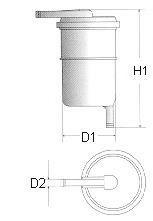 фільтр паливний  арт. L119606