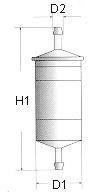 фільтр паливний  арт. L233606