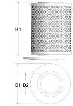 фільтр мастила  арт. X113606