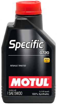 Масла моторные Моторное масло MOTUL SPECIFIC 0720 5W30 (1л.)  арт. 102208