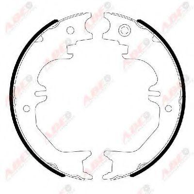 Гальмівні колодки, барабанні ABE C02086ABE
