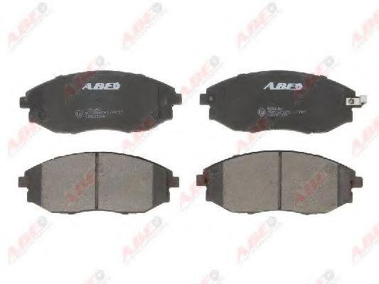 Гальмівні колодки, дискові  арт. C10021ABE