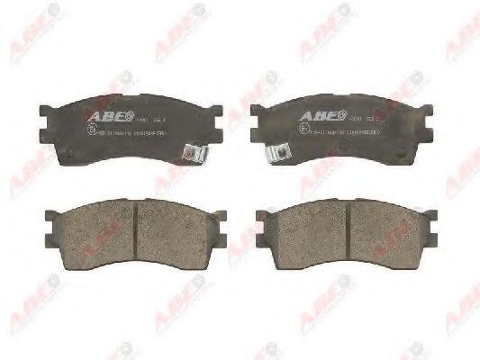 Комплект тормозных колодок, дисковый тормоз  арт. C10319ABE