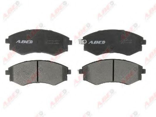 Комплект тормозных колодок, дисковый тормоз  арт. C11055ABE
