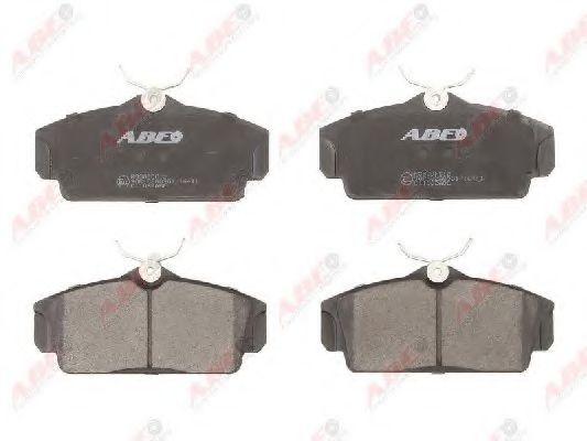 BRAKE PAD SET abe C11062ABE