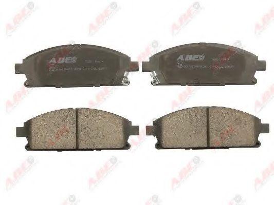 Комплект тормозных колодок, дисковый тормоз  арт. C11066ABE