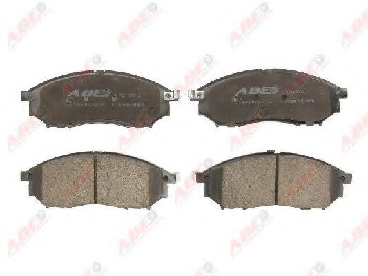 Гальмівні колодки, дискові  арт. C11078ABE