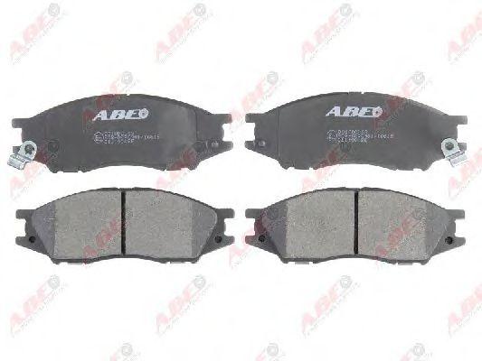 Гальмівні колодки дискові перед. Nissan Almera 02- ABE C11100ABE
