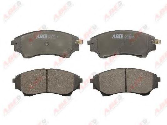 Комплект тормозных колодок, дисковый тормоз  арт. C13064ABE