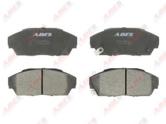Комплект тормозных колодок, дисковый тормоз  арт. C14026ABE