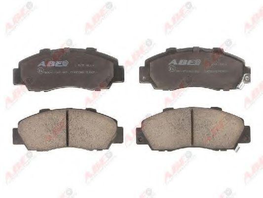 Комплект тормозных колодок, дисковый тормоз  арт. C14032ABE