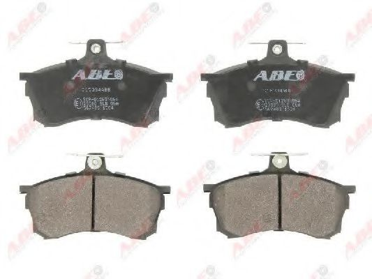 Гальмівні колодки диск. передні Mitsubishi Carisma 1.6-1.9TD 95-06  ABE C15034ABE