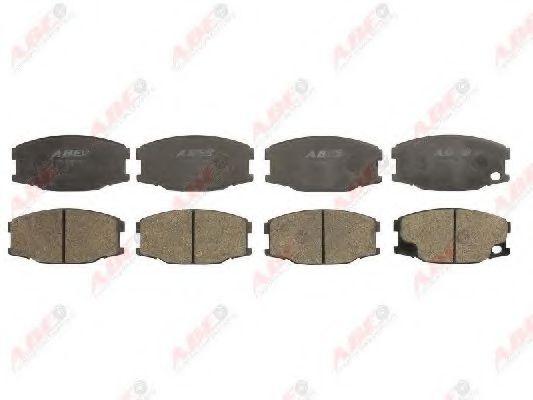 Гальмівні колодки перед.зад. Mitsubishi Canter 35-55-60-75 09/01-  ABE C15039ABE
